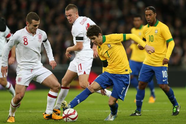 Why Oscar Was Brazil's Star Player Against England at Wembley