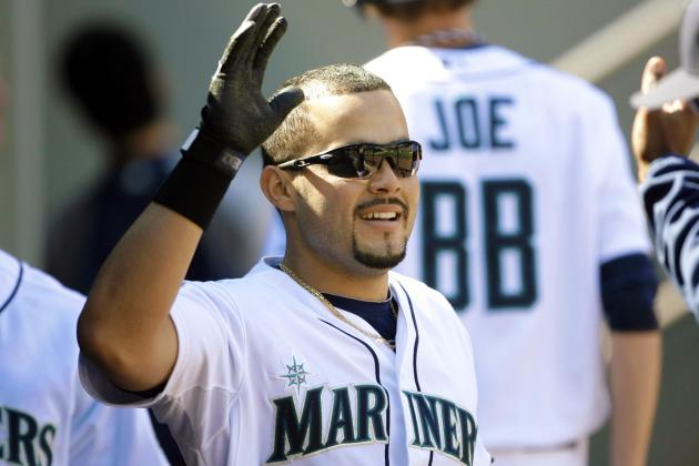 Former Yankees Prospect Jesus Montero, Now with the Seattle Mariners