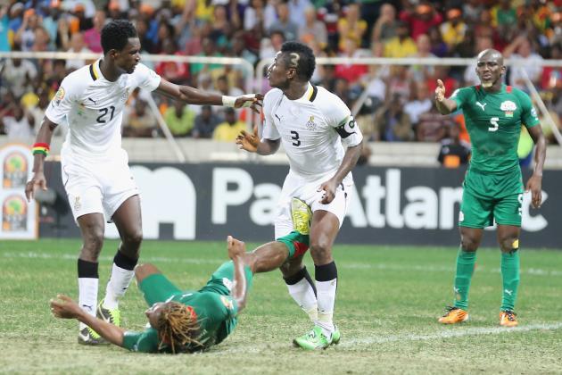 Burkina Faso 1-1 Ghana (aet, 3-2 Pens)