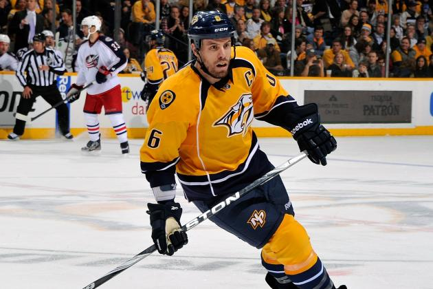 Shea Weber Doesn't Have a Point, and That's Not a Massive Problem