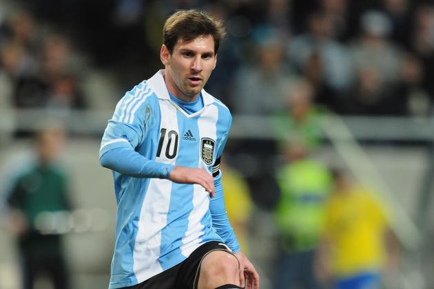 Ibra, Messi off Target as Argentina Beat Sweden