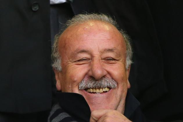 Del Bosque Praises Spain Debutants