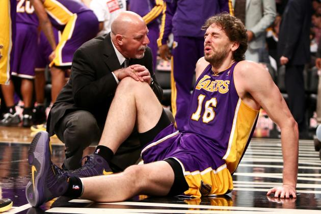 Timeline and Checklist for Pau Gasol's Return from Foot Injury
