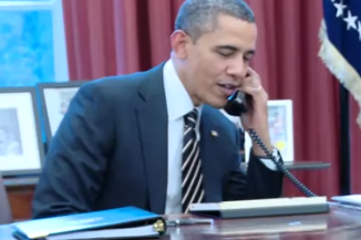 Obama to John Harbaugh: Relax, Take a Little Time off