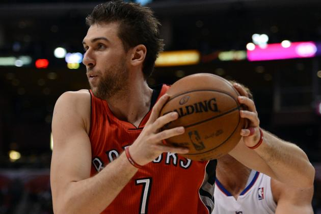 Andrea Bargnani Back Wednesday… Just in Time to Shop Him