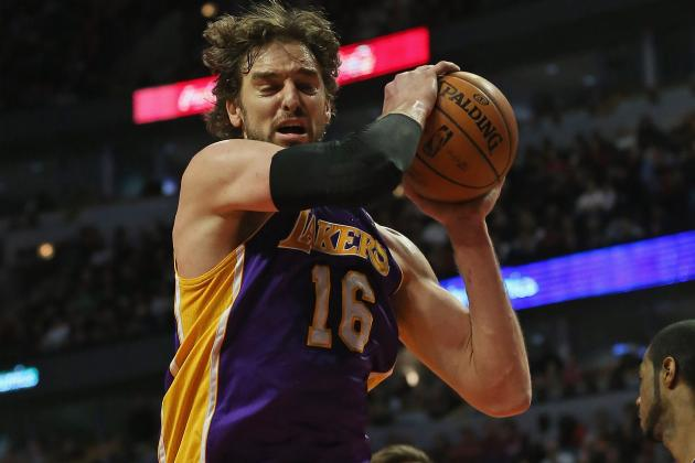 Pau Gasol: What Lakers Star's Injury Means for Team