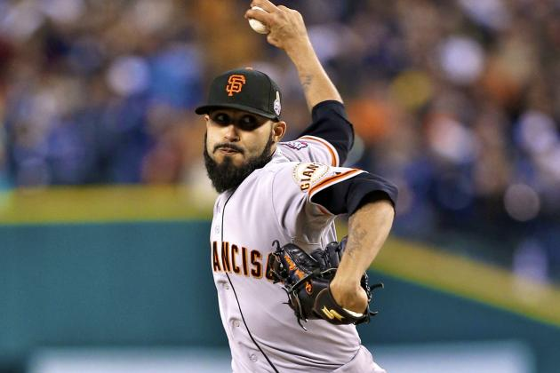 Sergio Romo and Giants Reportedly Agree to 2-Year Deal
