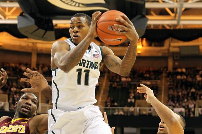 Action...Appling?! Keith Appling is heating up, and that's great news for Michigan State.