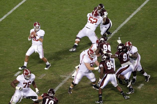 Alabama Football: Blueprint to Rebuilding a Dominant O-Line