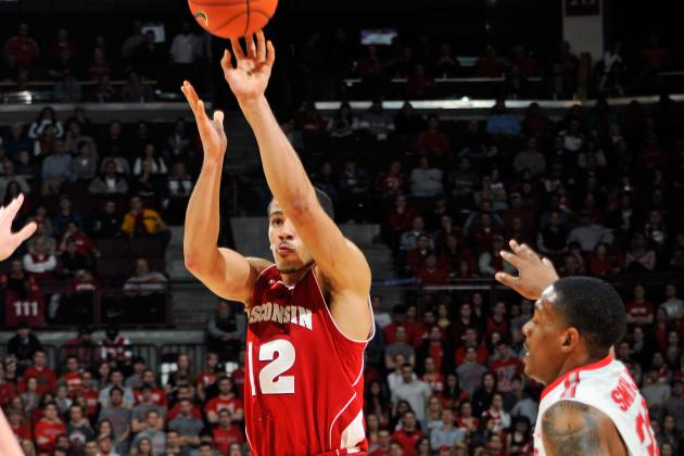 Wisconsin Beats Iowa 74-70 in Double OT