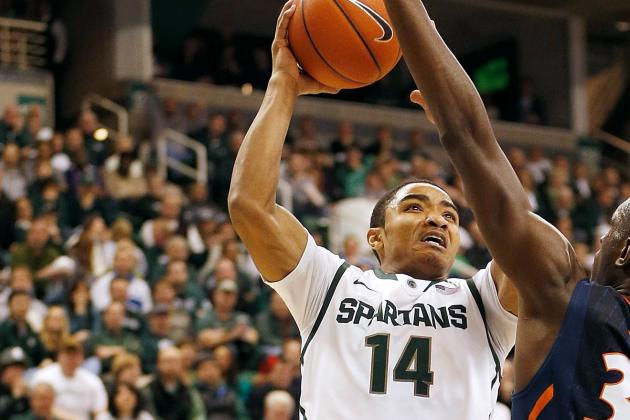 Freshman Gary Harris Leads Spartans Past Minnesota