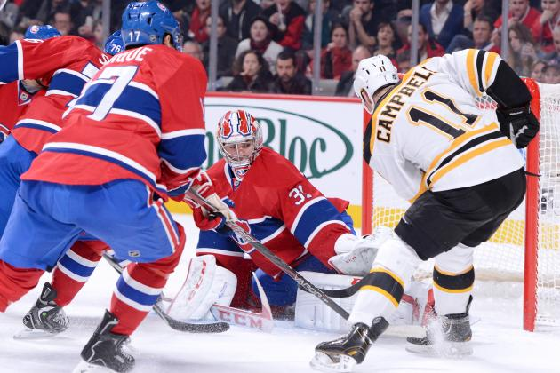 Bruins Come Back in Third Period to Beat Canadiens