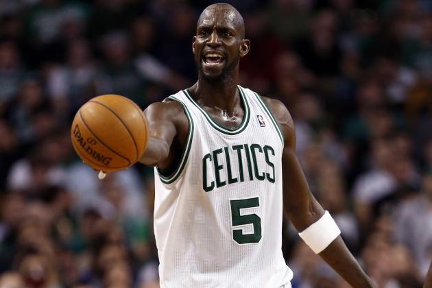 Kevin Garnett to 4-Year-Old Daughter: 'Better Have Your Ass in Bed'