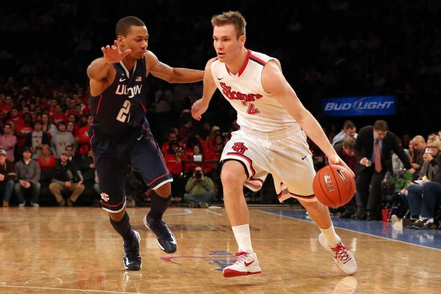 Sampson leads St. John's over UConn