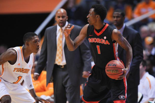 Georgia Stays Hot with 68-62 Win Over Tennessee