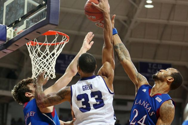 Last-Place TCU Shocks Kansas; Jayhawks Score 13 First-Half Points