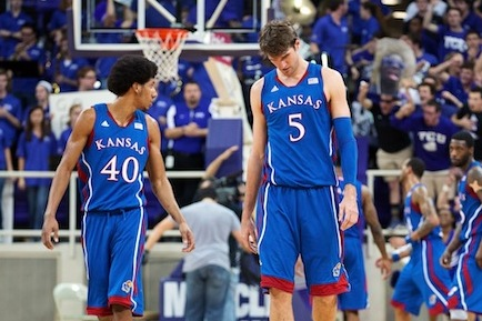 Kansas' Offensive Struggles Starting to Show Up at the Wrong Time