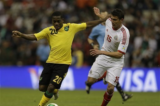 Jamaica draws Mexico 0-0 in WCup qualifying