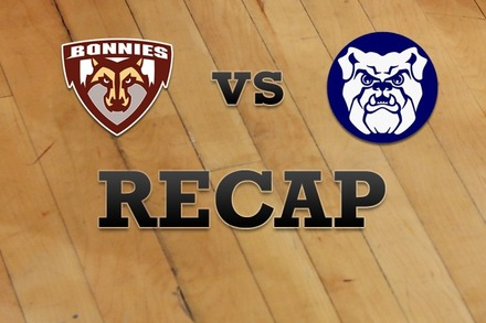 St. Bonaventure vs. Butler: Recap and Stats