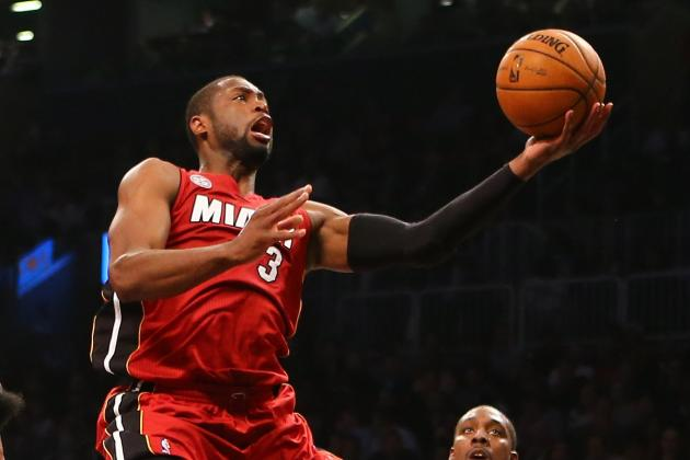 LeBron, Wade Help Heat Hold off Rockets