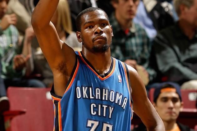 Durant, Thunder Blow out Road-Weary Warriors
