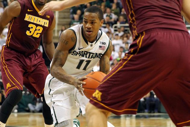 Keith Appling Saw His Right Shoulder 'Pop' out Against Minnesota