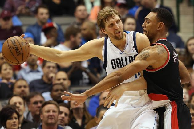 Mavs Hold on to Beat Portland Late, 105-99