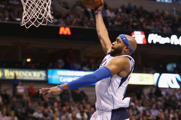 Vince Carter Returns for Dallas Mavericks