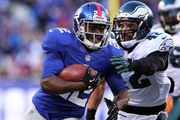 David Wilson vs. Andre Brown: Fantasy Values After Ahmad Bradshaw's Release