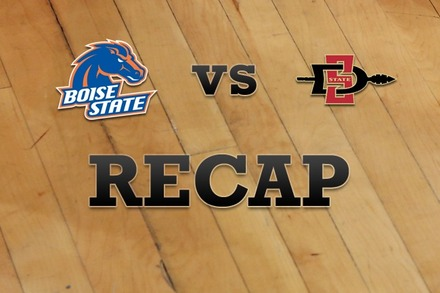 Boise State vs. San Diego State: Recap and Stats