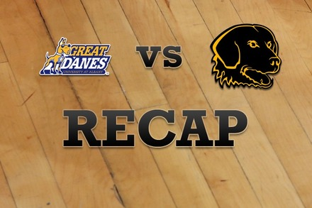 Albany vs. UMBC: Recap and Stats