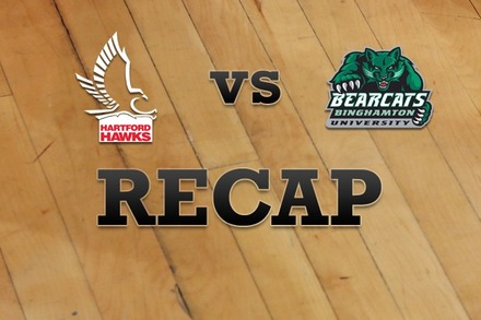 Hartford vs. Binghamton: Recap and Stats