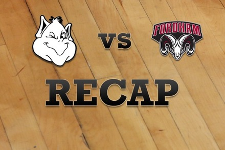 Saint Louis vs. Fordham: Recap and Stats