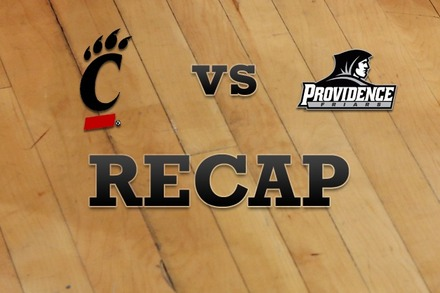 Cincinnati vs. Providence: Recap and Stats