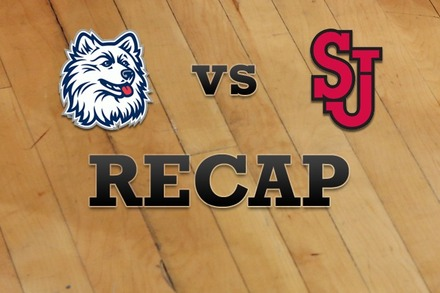 Connecticut vs. St John's: Recap and Stats