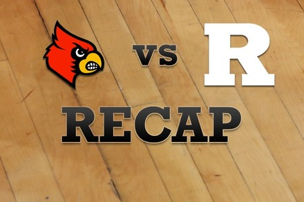 Louisville vs. Rutgers: Recap and Stats
