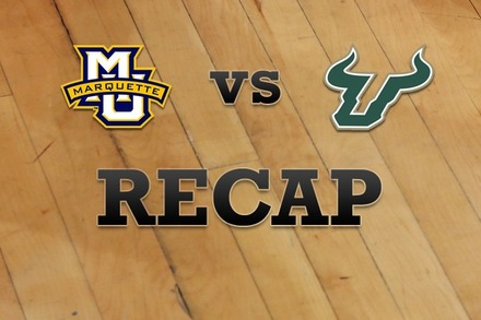 Marquette vs. South Florida: Recap and Stats