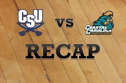 Charleston Southern vs. Coastal Carolina: Recap and Stats