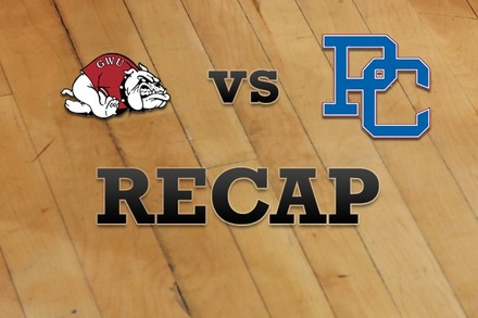 Gardner-Webb vs. Presbyterian: Recap and Stats