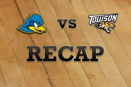 Delaware vs. Towson: Recap and Stats