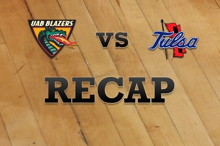 UAB vs. Tulsa: Recap and Stats
