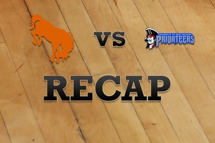 Texas-Pan American vs. New Orleans: Recap and Stats