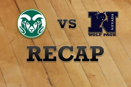 Colorado State vs. Nevada: Recap and Stats