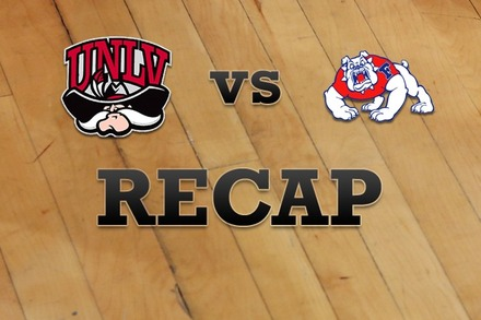 UNLV vs. Fresno State: Recap and Stats