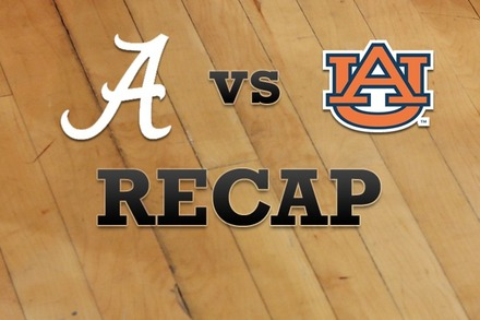 Alabama vs. Auburn: Recap and Stats