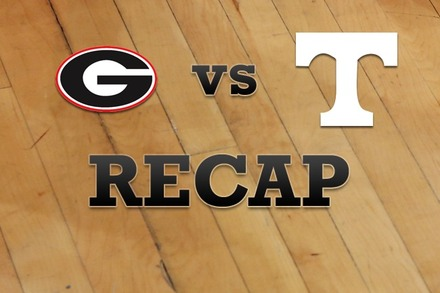 Georgia vs. Tennessee: Recap and Stats