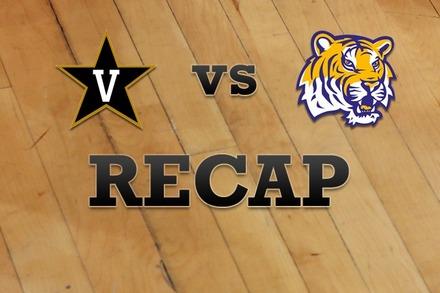 Vanderbilt vs. LSU: Recap and Stats