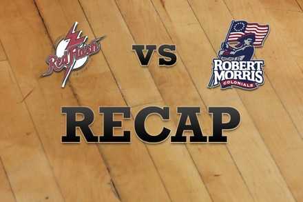 St. Francis (PA) vs. Robert Morris : Recap and Stats