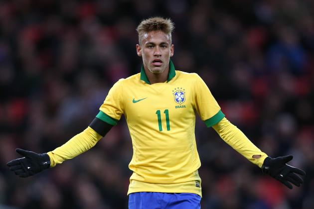 Neymar: Reviewing His Performance for Brazil Against England at Wembley