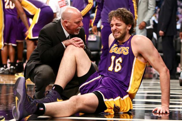 Pau Gasol Injury: What Lakers Must Do to Cope with Big Man's Absence